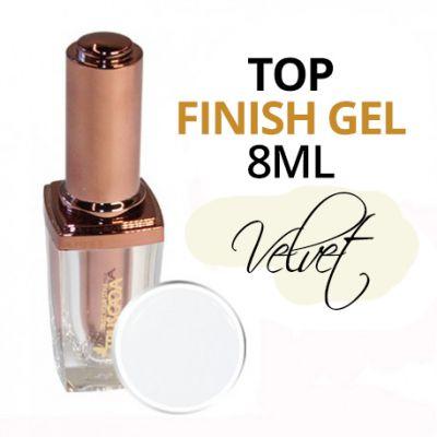 Velvet effect TOP gel